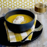 Soupe potimaron chantilly gingembre